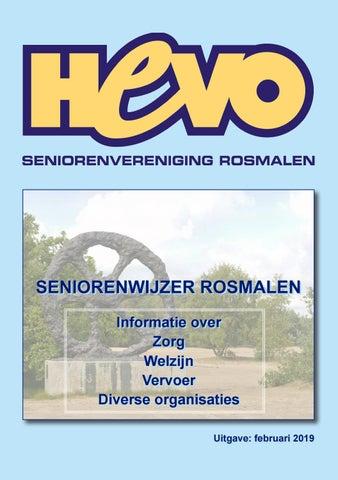 SENIORENWIJZER ROSMALEN by vormgevers6 -