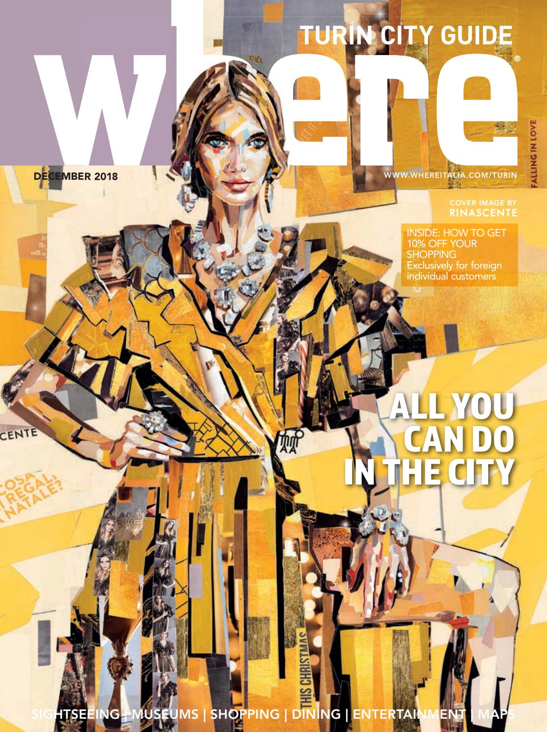 new style 22cf9 e6660 Where Magazine Turin Dec 2018 by Morris Media Network - issuu