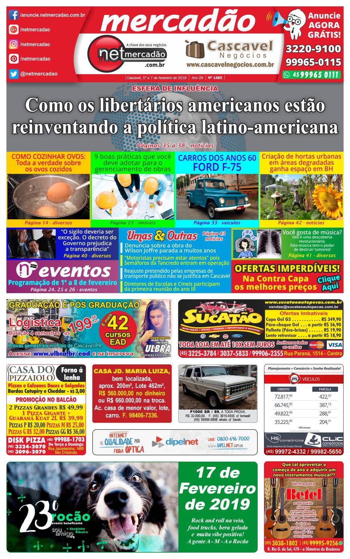 f034e5f6e Jornal Mercadão Online Grátis - 1º a 7 de Fevereiro de 2019 by netmercadao  - issuu