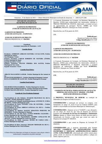 51dba1c8bb Edital de Processo Seletivo da Prefeitura de Presidente Figueiredo ...