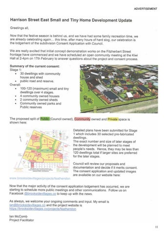 Page 11 of Harrison Street East Small and Tiny Home Development Update