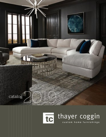 Awe Inspiring Thayer Coggin Home Furnishings Catalog 2019 By Thayer Coggin Unemploymentrelief Wooden Chair Designs For Living Room Unemploymentrelieforg