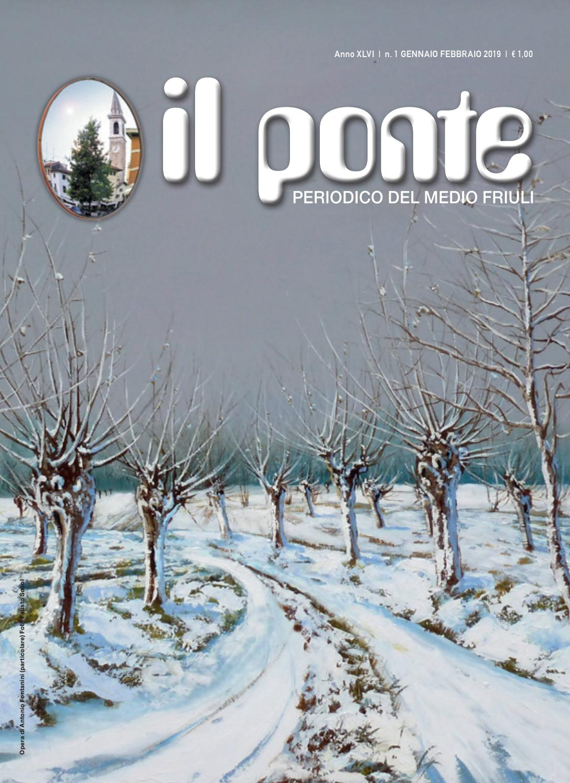 il ponte Codroipo n.01 gennaio-febbraio 2019 by Il Ponte - issuu 50c7ed8d2d0