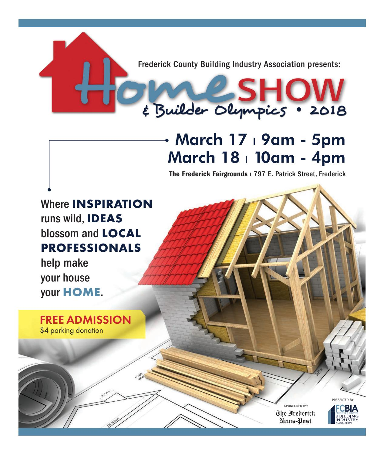 Fcbia Home Show 2018 By Frederick News Post Issuu