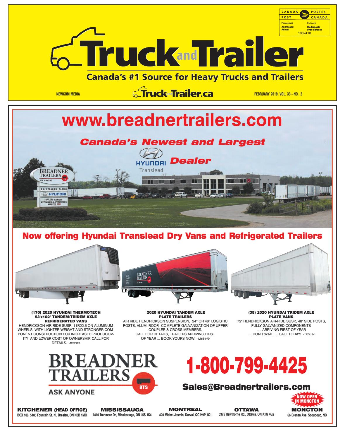 Truck and Trailer February 2019 by Annex Business Media - issuu