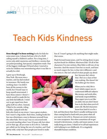 Page 14 of Teach Kids Kindness by Bestselling Author James Patterson