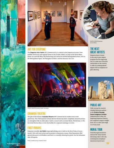 Page 19 of Emporia is the the destination for Art Lovers