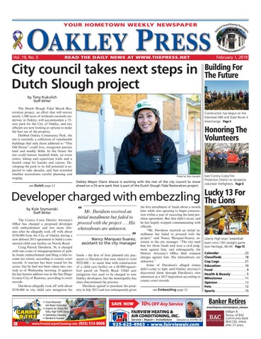 c0be12d809d Oakley Press 02.01.19 by Brentwood Press   Publishing - issuu