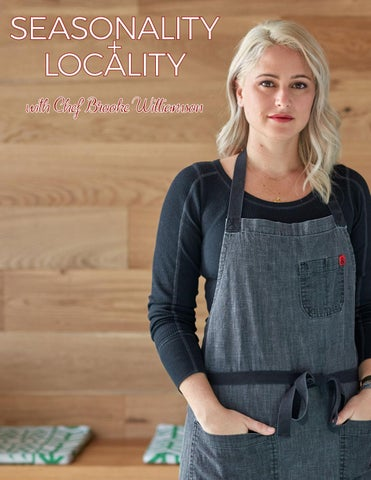 Page 98 of ATHLEISURE MAG JAN 2019 | SEASONALITY & LOCALITY WITH CHEF BROOKE WILLIAMSON