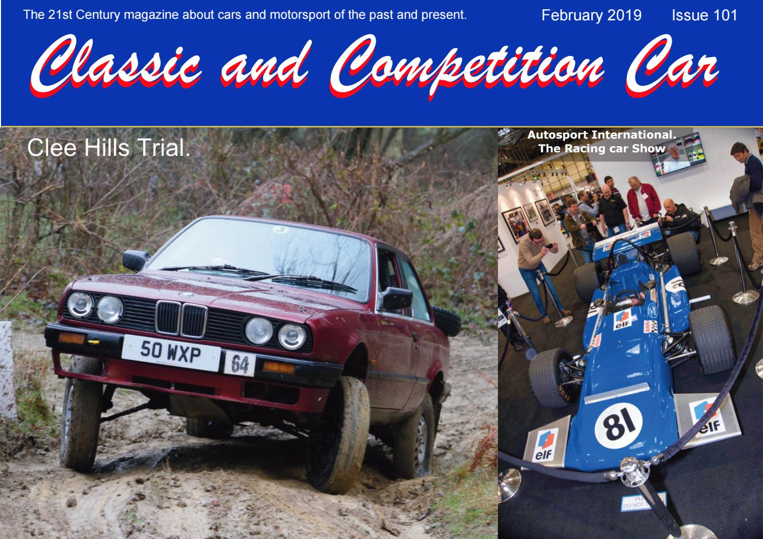 Classic and Competition Car 101 February 2019 by Simon