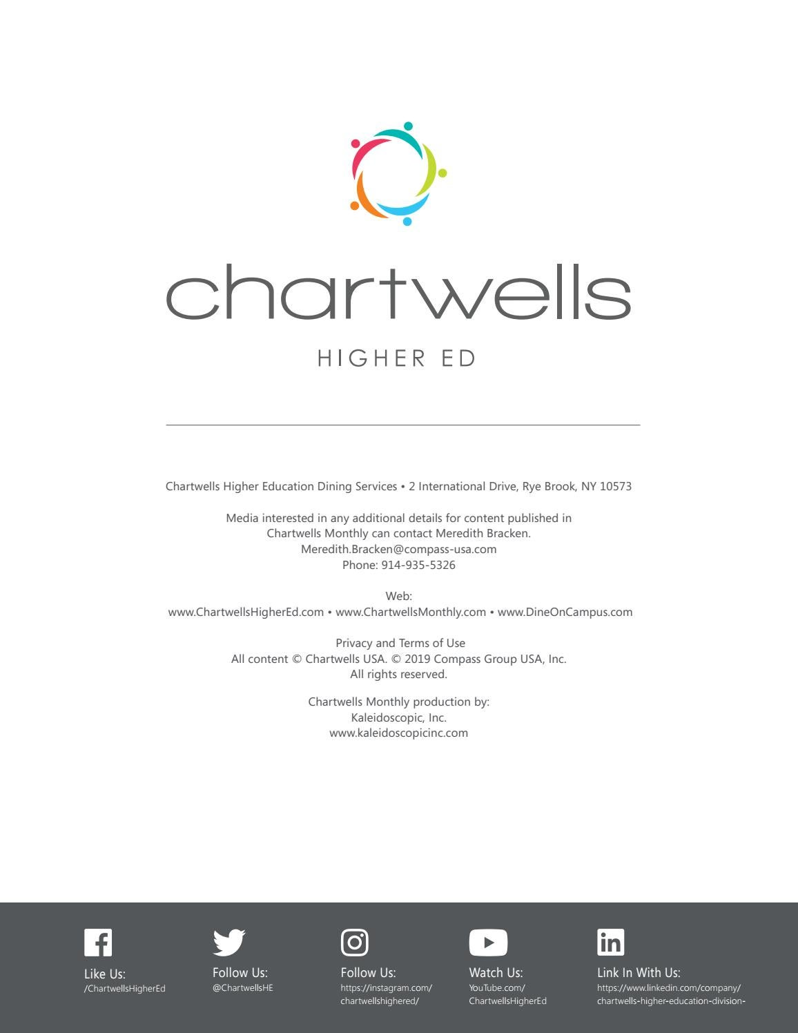 Chartwells Monthly | January 2019 by Chartwells Higher ...