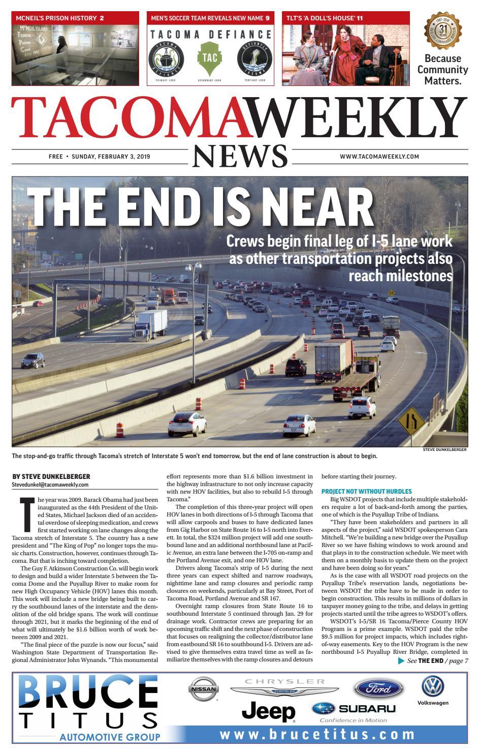 Tacoma Weekly 02 03 19 by Tacoma Weekly News - issuu