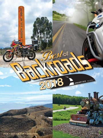 Backroads January 2019 by Backroads Magazine - issuu