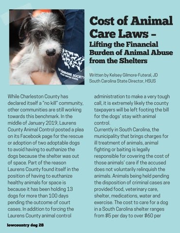 Page 28 of Cost of Animal Care Laws