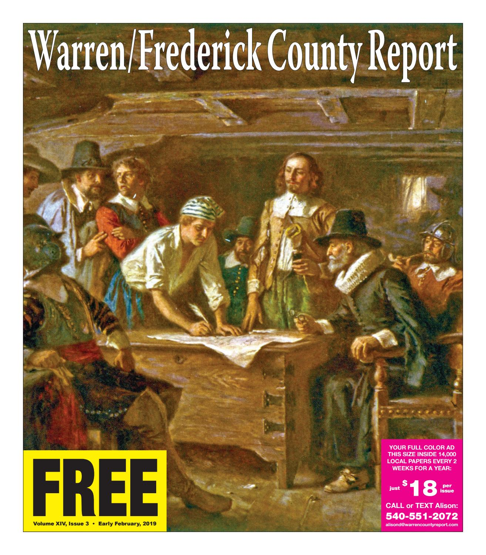 Early February 2019 Warren/Frederick County Report by Warren