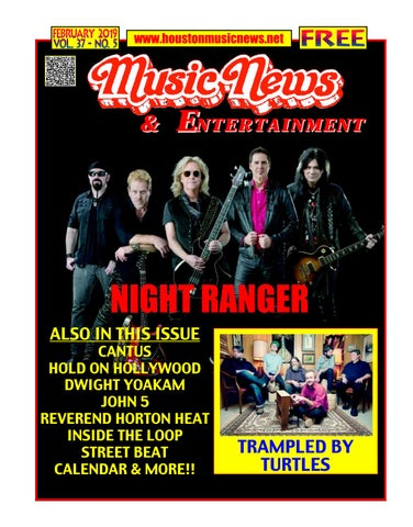 b2d7a1f5746b8 Houston Music News   Entertainment - February 2019 by Texas Music ...