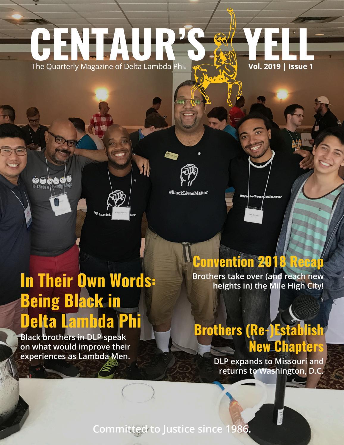 Centaur's Yell (January 2019) by Delta Lambda Phi Fraternity
