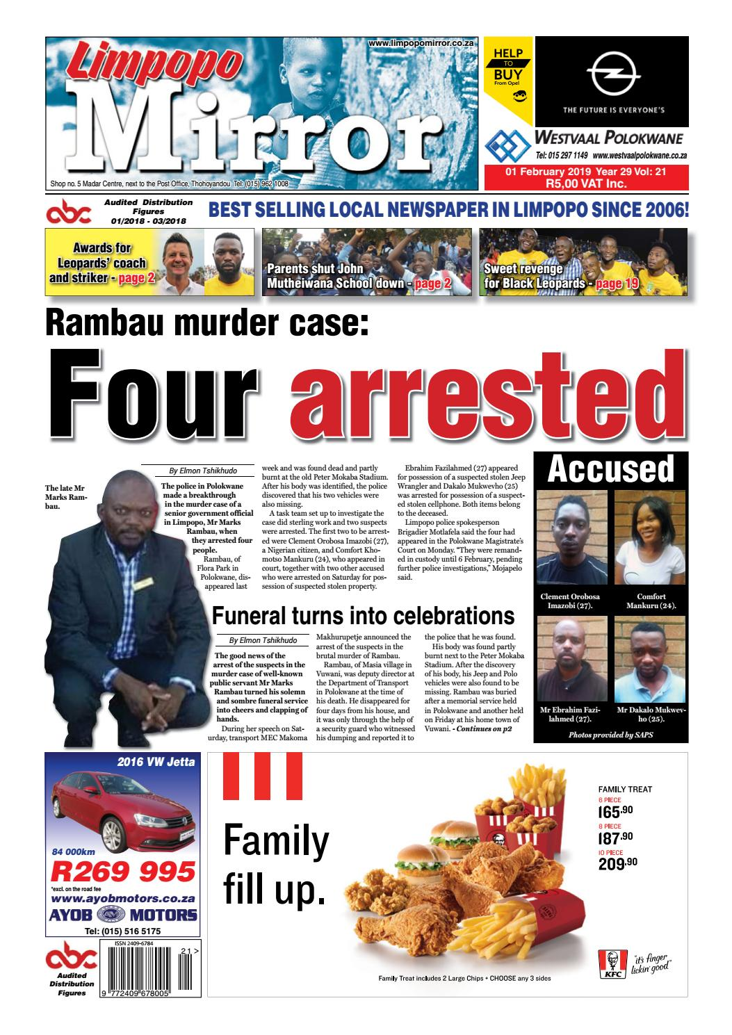 Limpopo Mirror 1 February 2019 by Zoutnet - issuu
