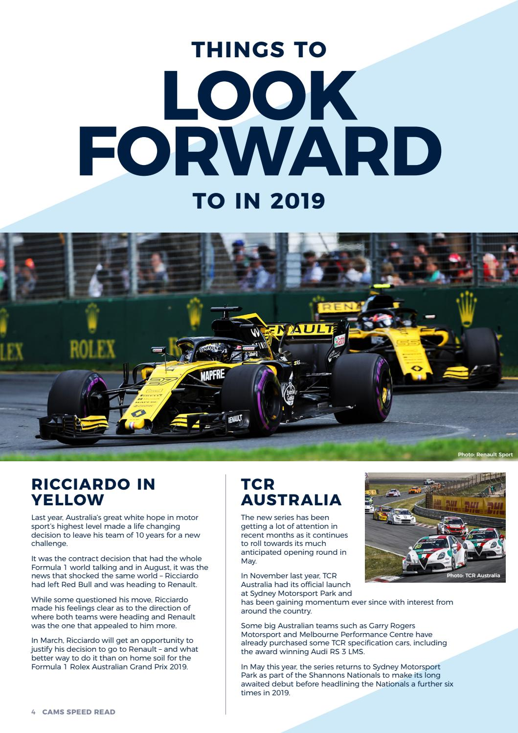 Speed Read February 2019 by Confederation of Australian