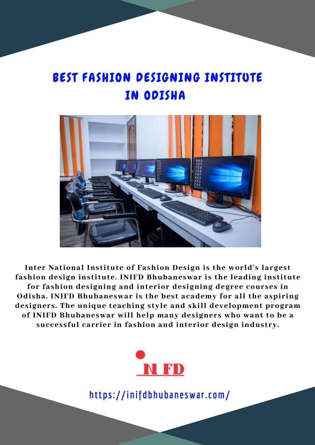 Best Fashion Designing Institute In Odisha By Inifd Bhubaneswar Issuu