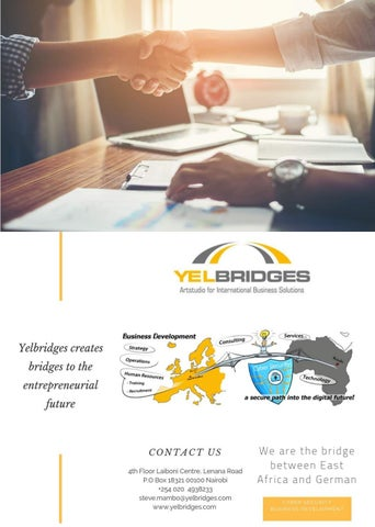 Page 18 of Yelbridges - The Bridge Builders between Africa and Germany