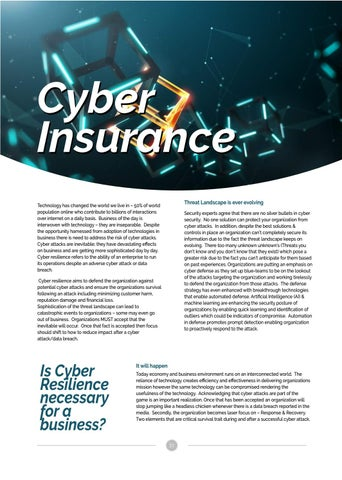 Page 21 of Cyber Insurance and Resilience