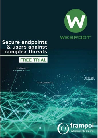 Page 2 of Webroot Endpoint Security - Free Trials Available.