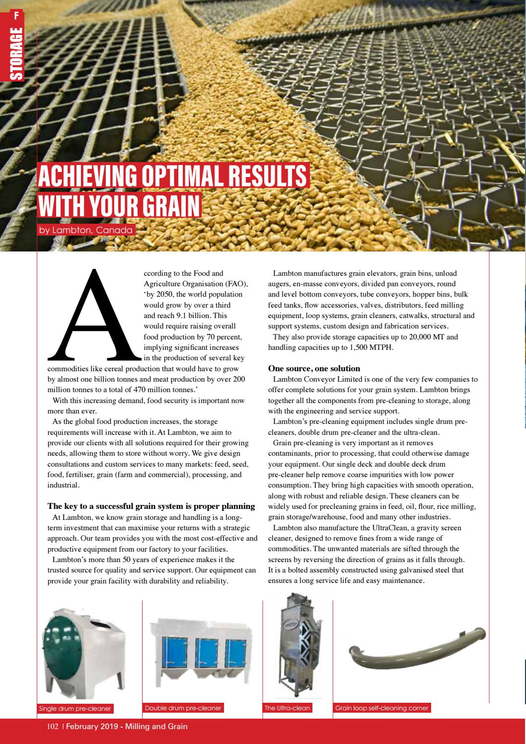 FEB 2019 - Milling and Grain Magazine by Perendale