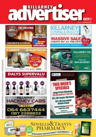 Killarney Advertiser 1 February 2019 by Killarney Advertiser - issuu c9440a2a8f4