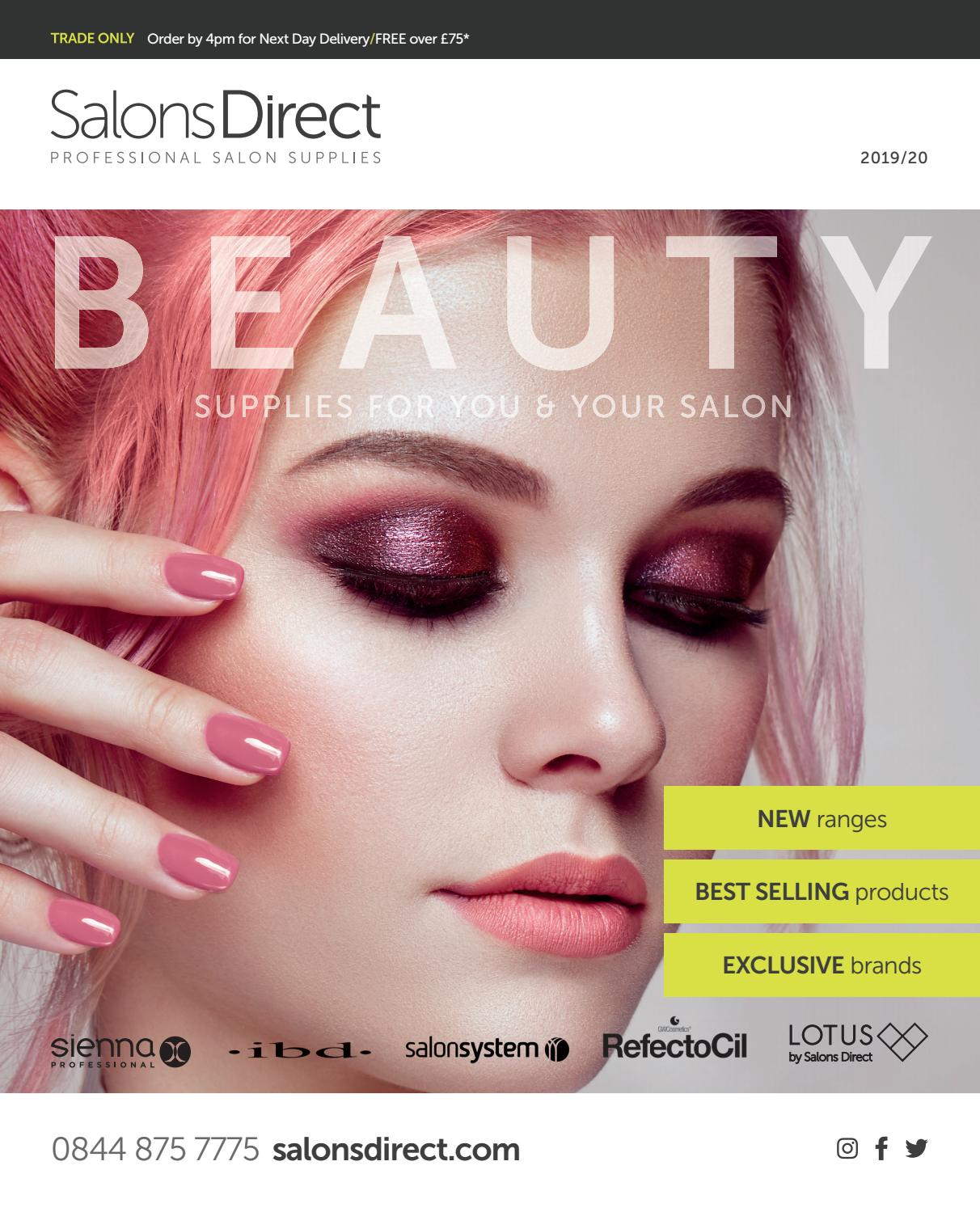 c1ad0efe865 Salons Direct Beauty Catalogue 2019/2020 by Salons Direct - issuu