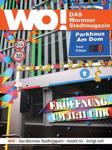 WO! Das Wormser Stadtmagazin Februar 2019 by WO! – DAS