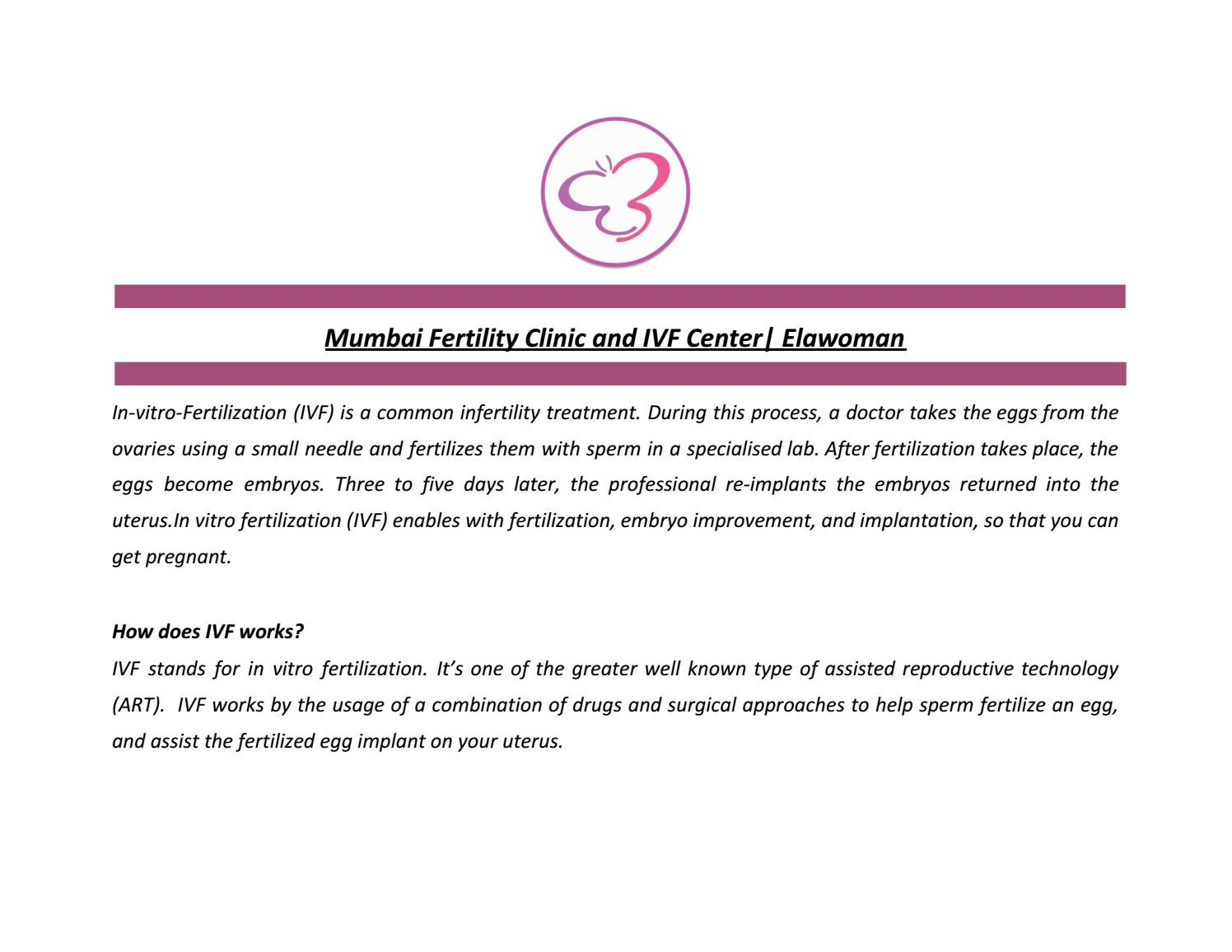 Mumbai Fertility Clinic and IVF Center | Elawoman by