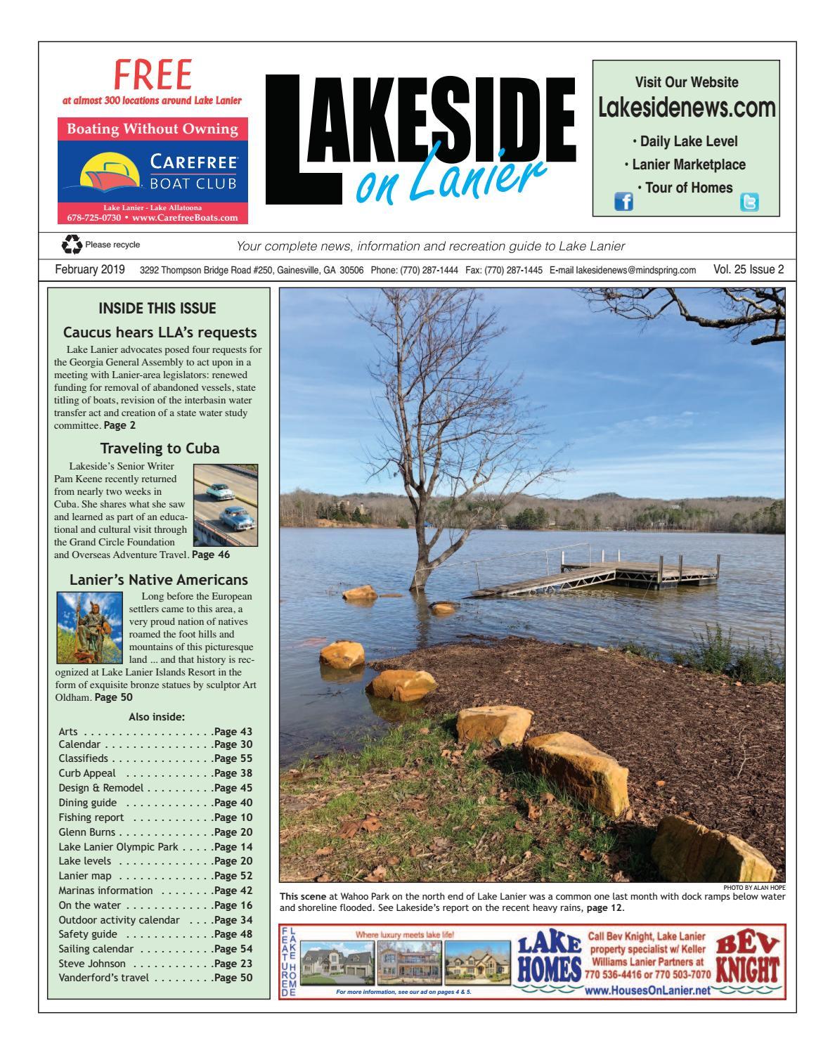 lakeside on lanier february 2019 by lanier publishing inc