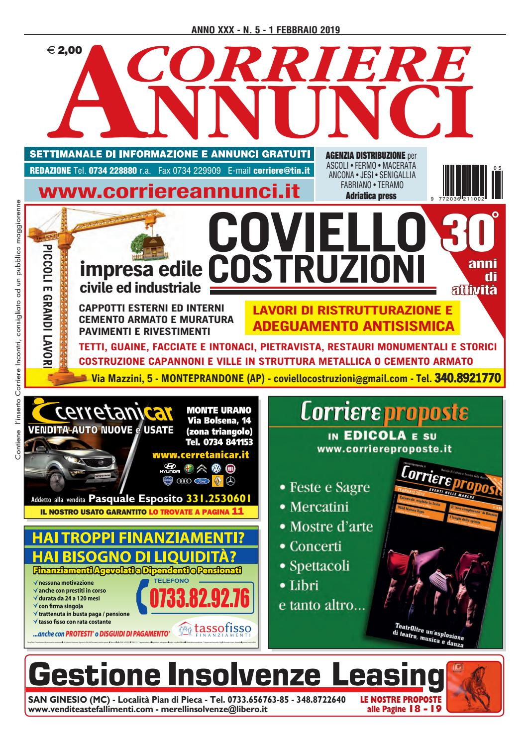 Corriere 5-2019 by Corriere Annunci - issuu 3842f618873