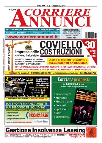 Corriere 5-2019 by Corriere Annunci - issuu 8e8945bdebed