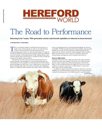 53349848356 February 2019 Hereford World by American Hereford Association and ...