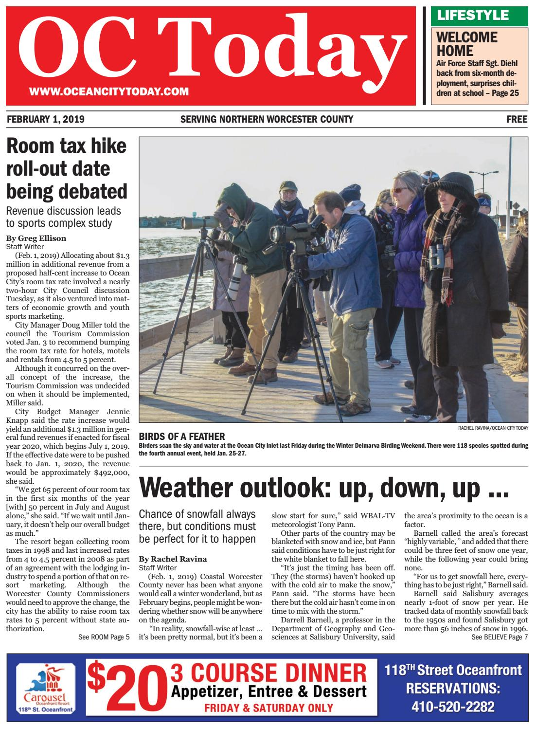 2/1/19 Ocean City Today by ocean city today - issuu
