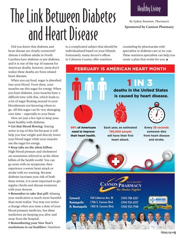 Page 17 of The Link Between Diabetes and Heart Disease