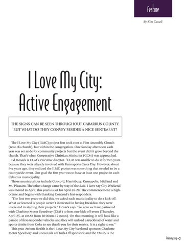 Page 7 of I Love My City: Active Engagement