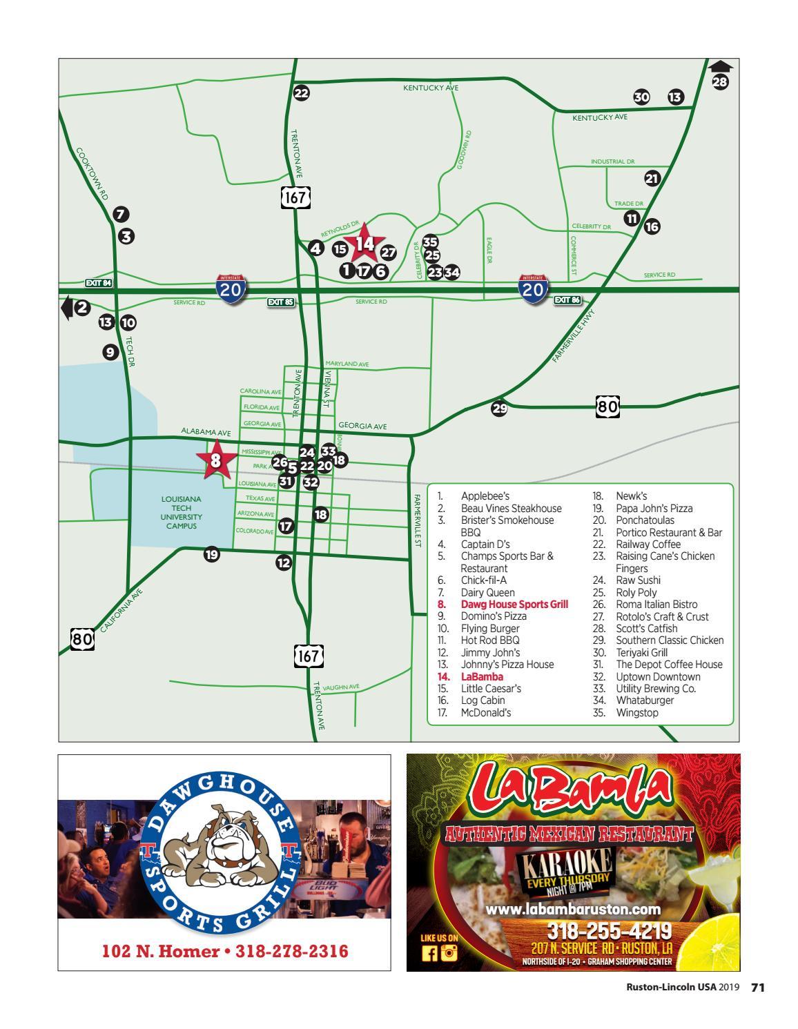 Ruston-Lincoln USA Community & Relocation Guide