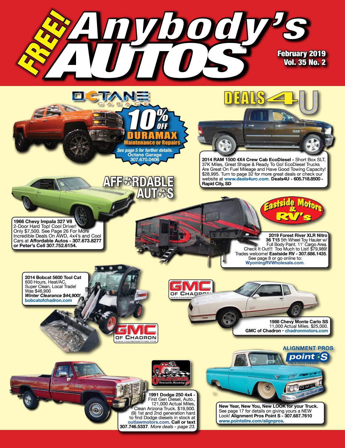 February 2019 by Anybodys Autos - issuu
