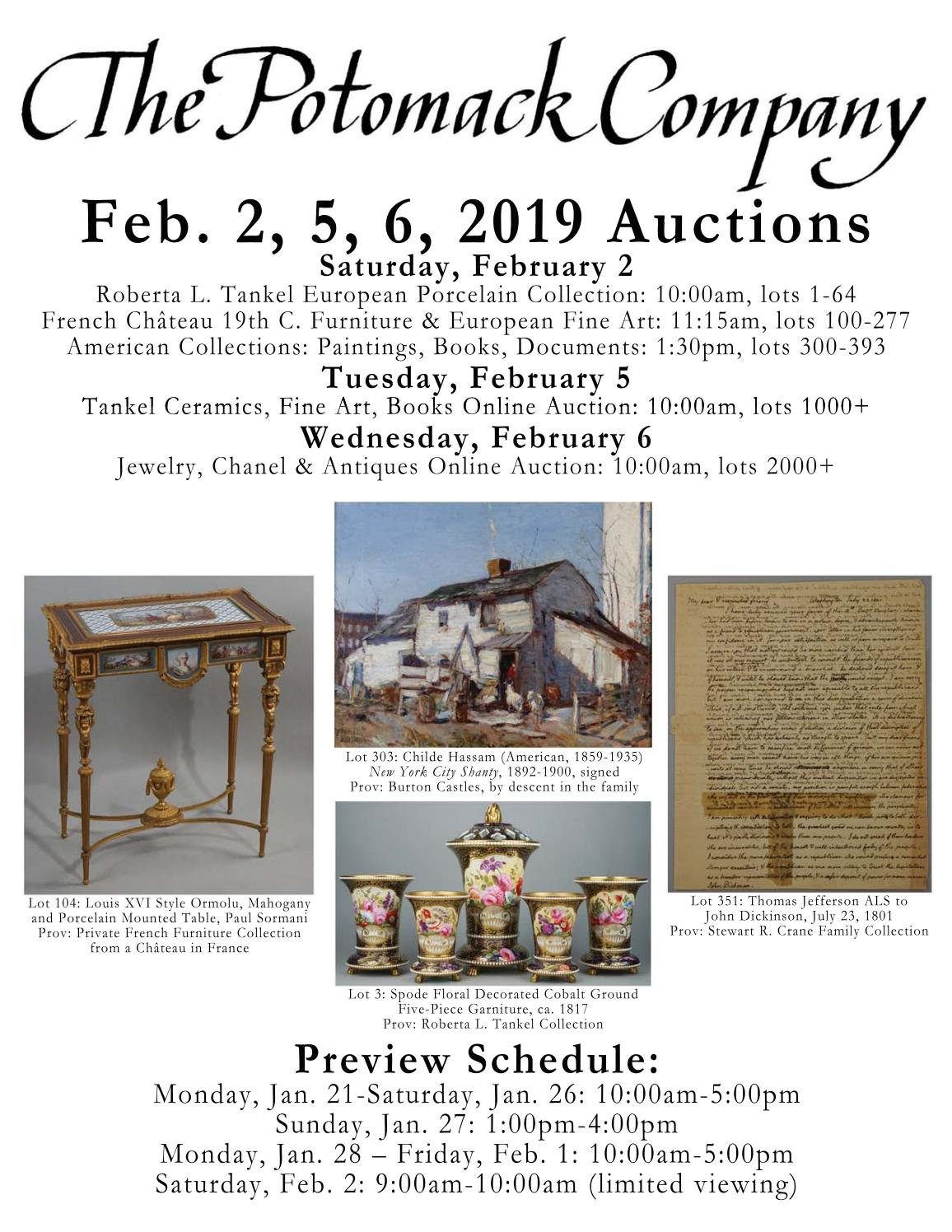 279d83fef81eb Potomack Co. Feb. 2, 5, 6 Auctions Catalogue by The Potomack Company - issuu