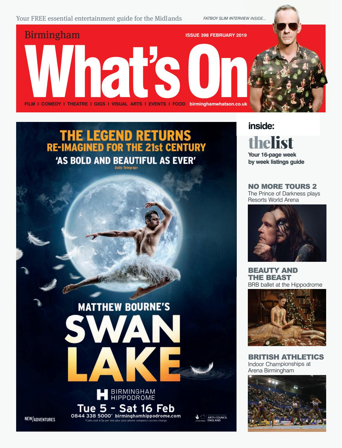Birmingham What's On February 2019 by What's On Magazine for