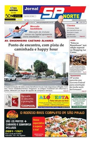 321b7cfb3 Edição 846 - 01 a 15 de fevereiro de 2019 by Jornal SP Norte - issuu