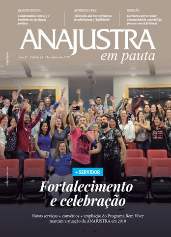66e8d3e1c ANAJUSTRA em Pauta  Dezembro 2018 by ANAJUSTRA Anajustra - issuu