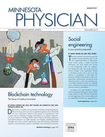 Minnesota Physician January 2019 by Minnesota Physician