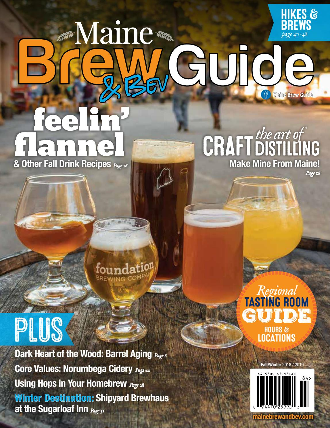 Maine Brew N Bev Guide By Activity Maine Issuu