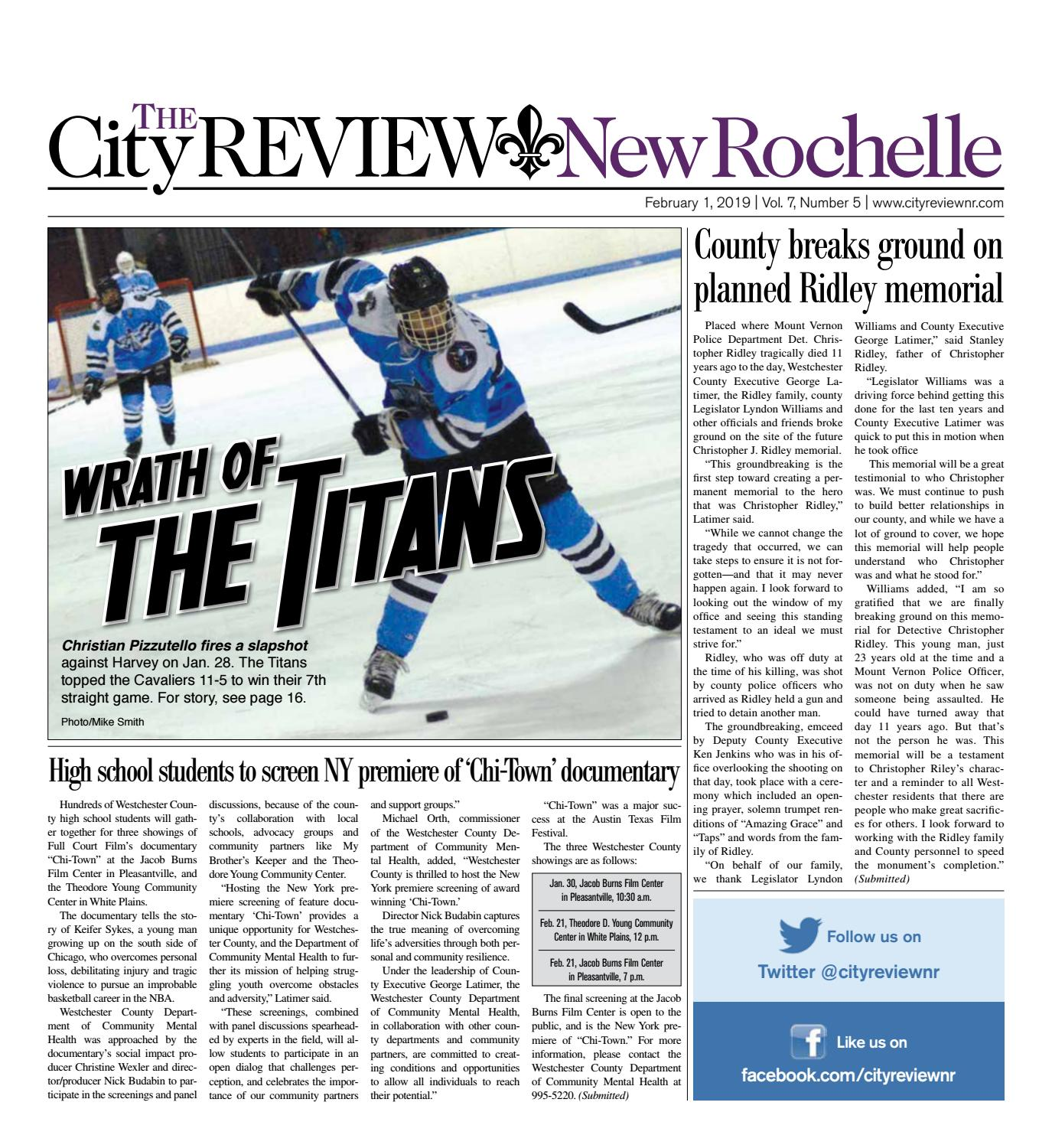 February 1, 2019 by The City Review New Rochelle - issuu