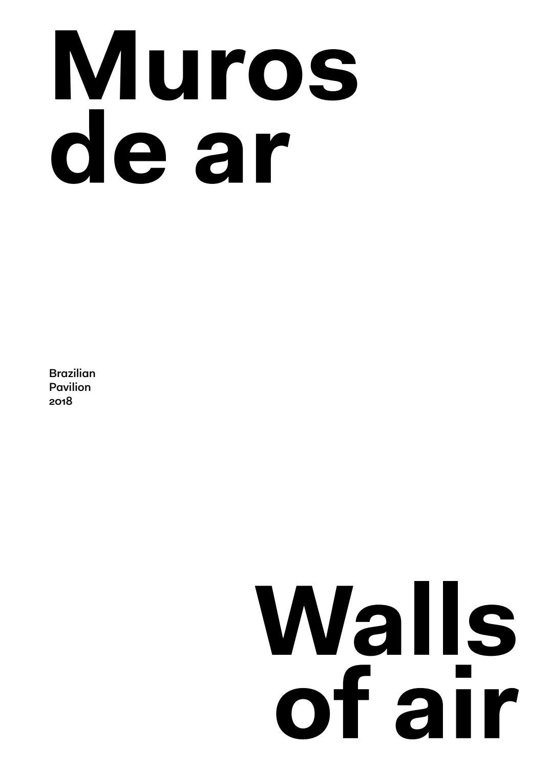Walls of air - Catalogue by Bienal São Paulo - issuu cdb6bde824506