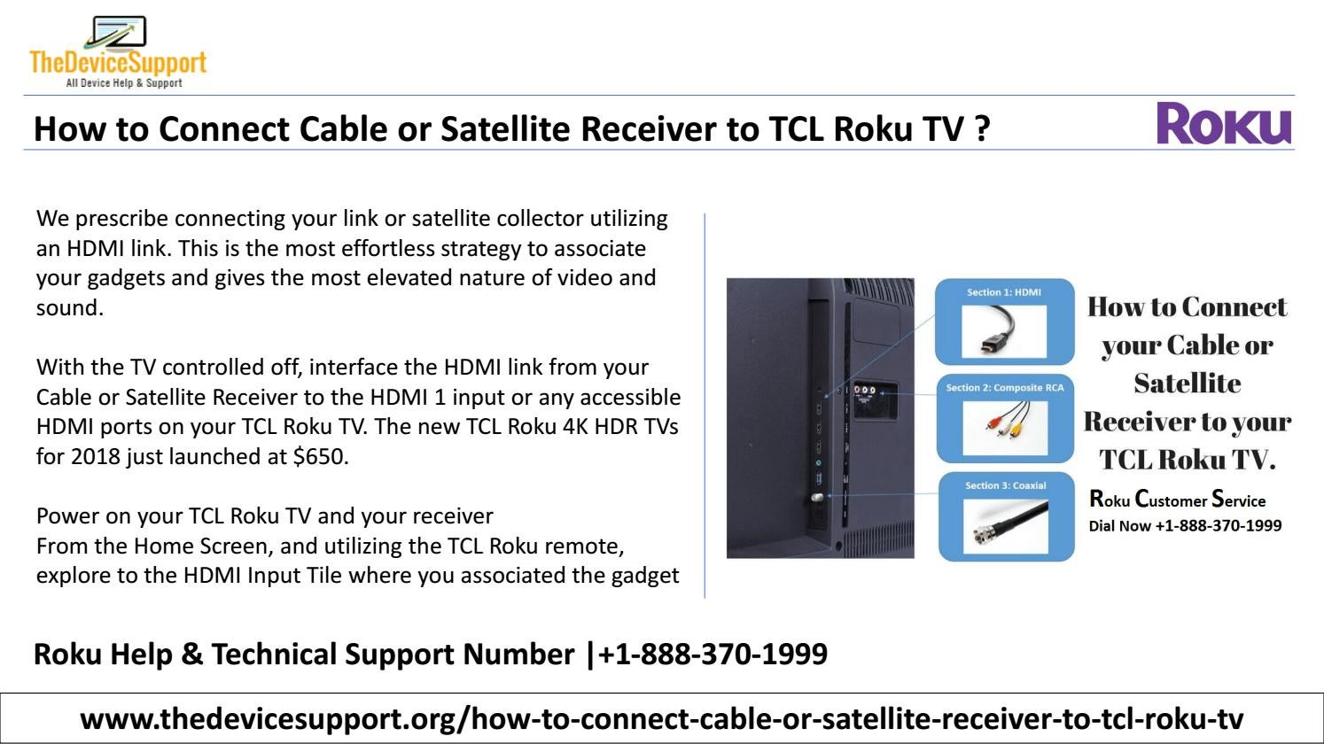 Roku Support Number |+1-888-370-1999 Roku Customer Service by